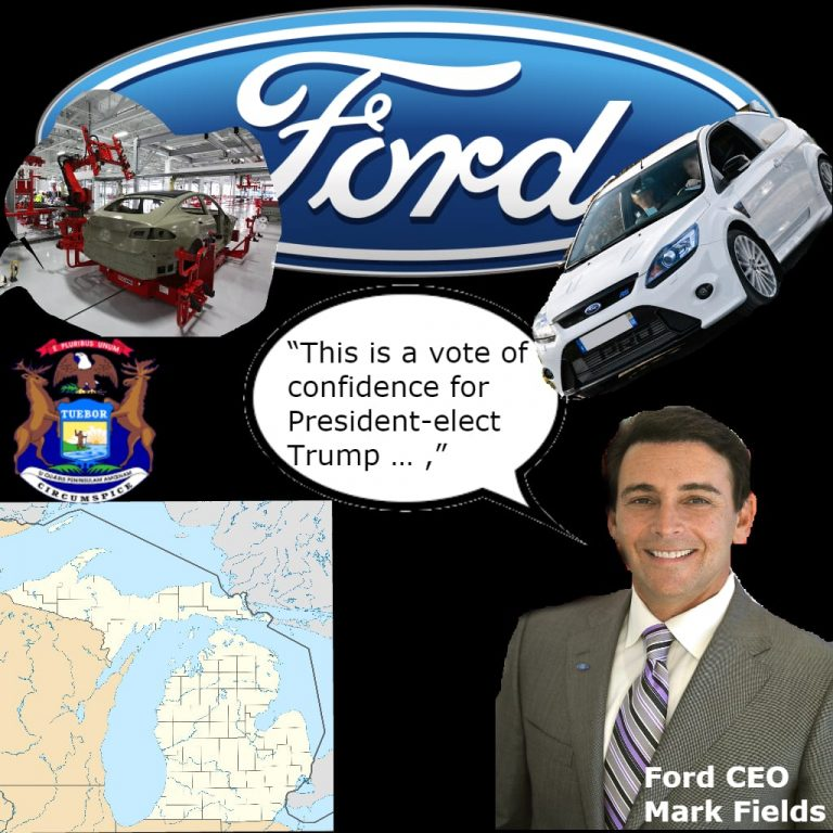 Ford Cancels Mexico Factory To Expand U.S. Michigan Factory