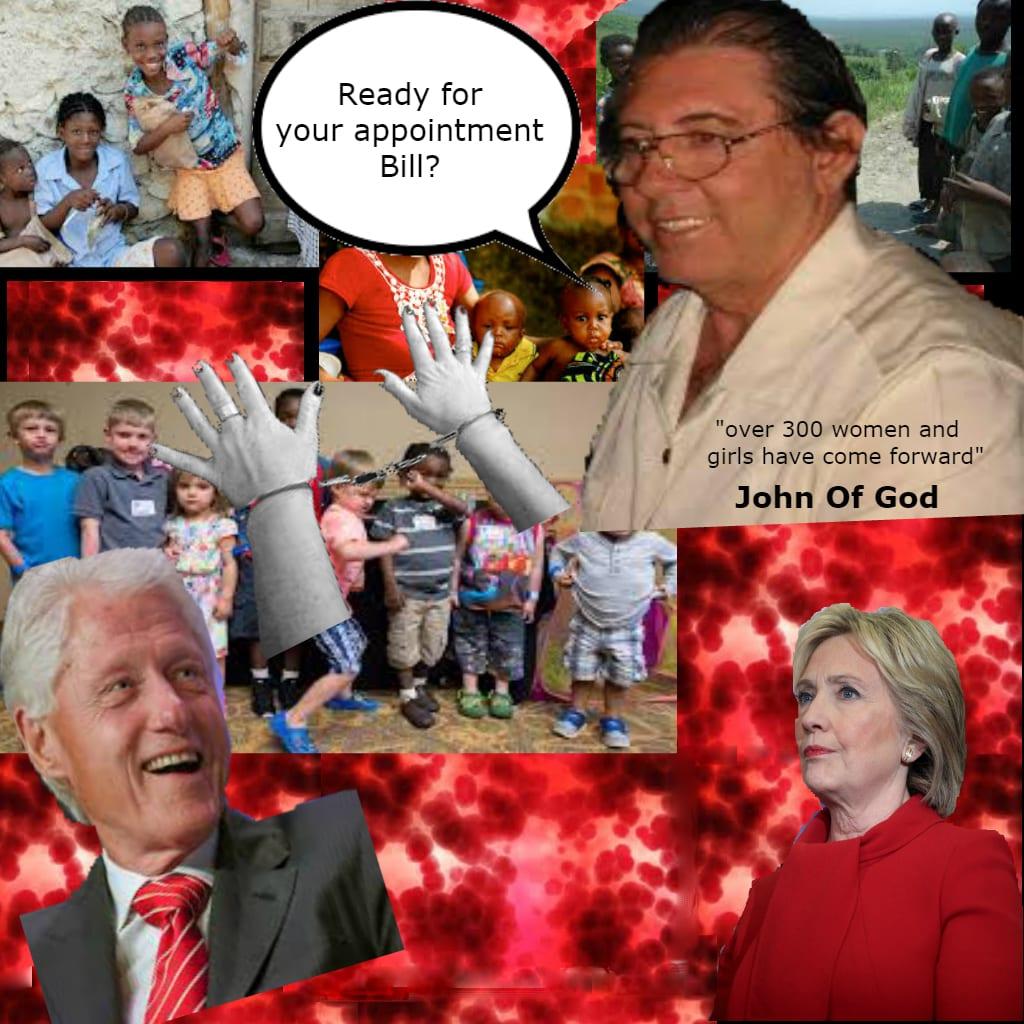 John of God Ties To Sex Slavery, Baby Farm, And Clinton's
