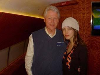 Bill Clinton & Rachel (Ray) Chandler