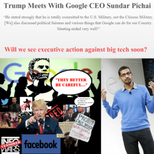 Trump's Meeting With Big Tech