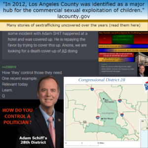 'Major Hub' For Human Sex-Trafficking In Adam Schiff's District