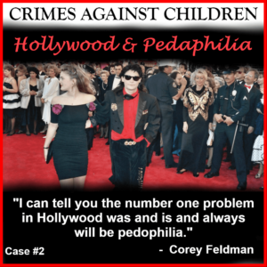 Cory Feldman States Pedophilia Is Hollywood's Biggest Problem