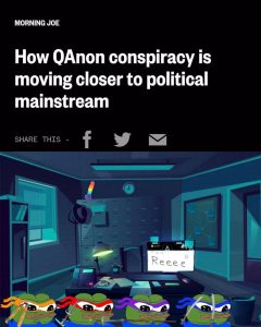 How QAnon Conspiracy is Moving Closer to Political Mainstream