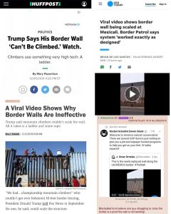 """Border Patrol Says Border Wall """"worked exactly as designed"""""""