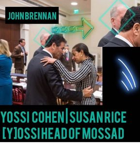 John Brennan and Yossi Cohen (Head of MOSSAB)