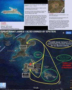 Great Saint James Island Also Owned By Jeffrey Epstein
