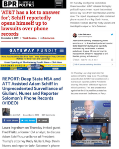 AT&T Has a LOT to Answer For; Adam Schiff Opens Himself Up to Lawsuit Over Phone Records
