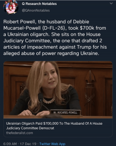 Ukrainian Oligarch Paid $700,000 To The Husband Of A House Judiciary Committee Democrat