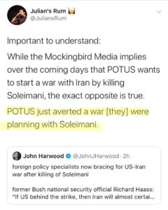 Trump Just Averted A War [They] Were Planning With Soleimani