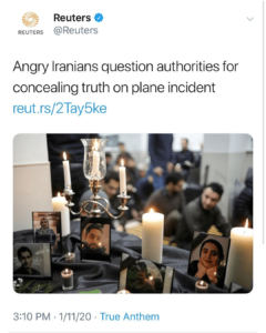 Angry Iranians Question Authorities On The TRUTH Behind Plane Shooting