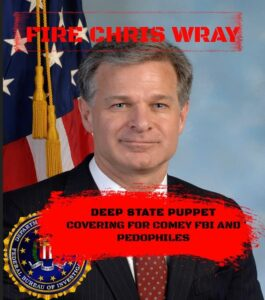 Call WH  202 456 1111…….#FireChrisWray Leave Iraq #ChrisWray's #FBI continue…