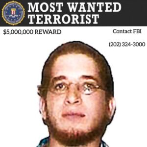 The FBI and the U.S. Attorney's office are announcing a reward of up to $5 milli…