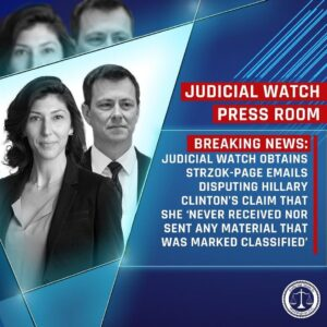 Posted @withrepost • @judicialwatch BREAKING: Judicial Watch announced today it …