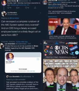 Why am I not surprised… @brianstelter COMPLICIT! NOTE: we have yet to see stel…