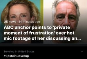 Read more about the article This is pretty big.  We're talking @ABCNews… and an anchor saying she's got ev…
