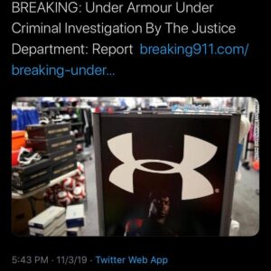 Read more about the article BREAKING: The Justice Department and the Securities and Exchange Commission are …