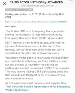 Read more about the article Alert   @FBI @DHSgov @usarmy @usmarines @seattlepd  PLEASE look into this.  …