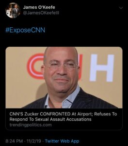 Read more about the article How peculiar…  #ExposeCNN @cnn…
