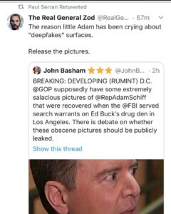 "The reason little Adam has been crying about ""deepfakes"" surfaces."