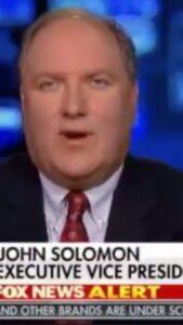 "We Listen: ""John Solomon: For last 18 months, I have been gathering incriminatin…"
