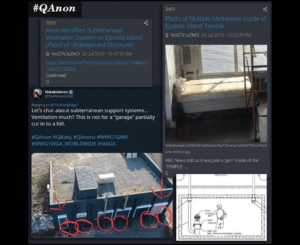 Researcher Identifies Subterranean Ventilation System on Epstein Island (Proof of Underground Structure)