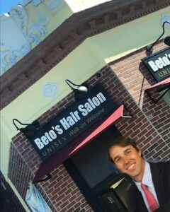 Read more about the article Beto's Barber Shop!  looks like he found a real job!…