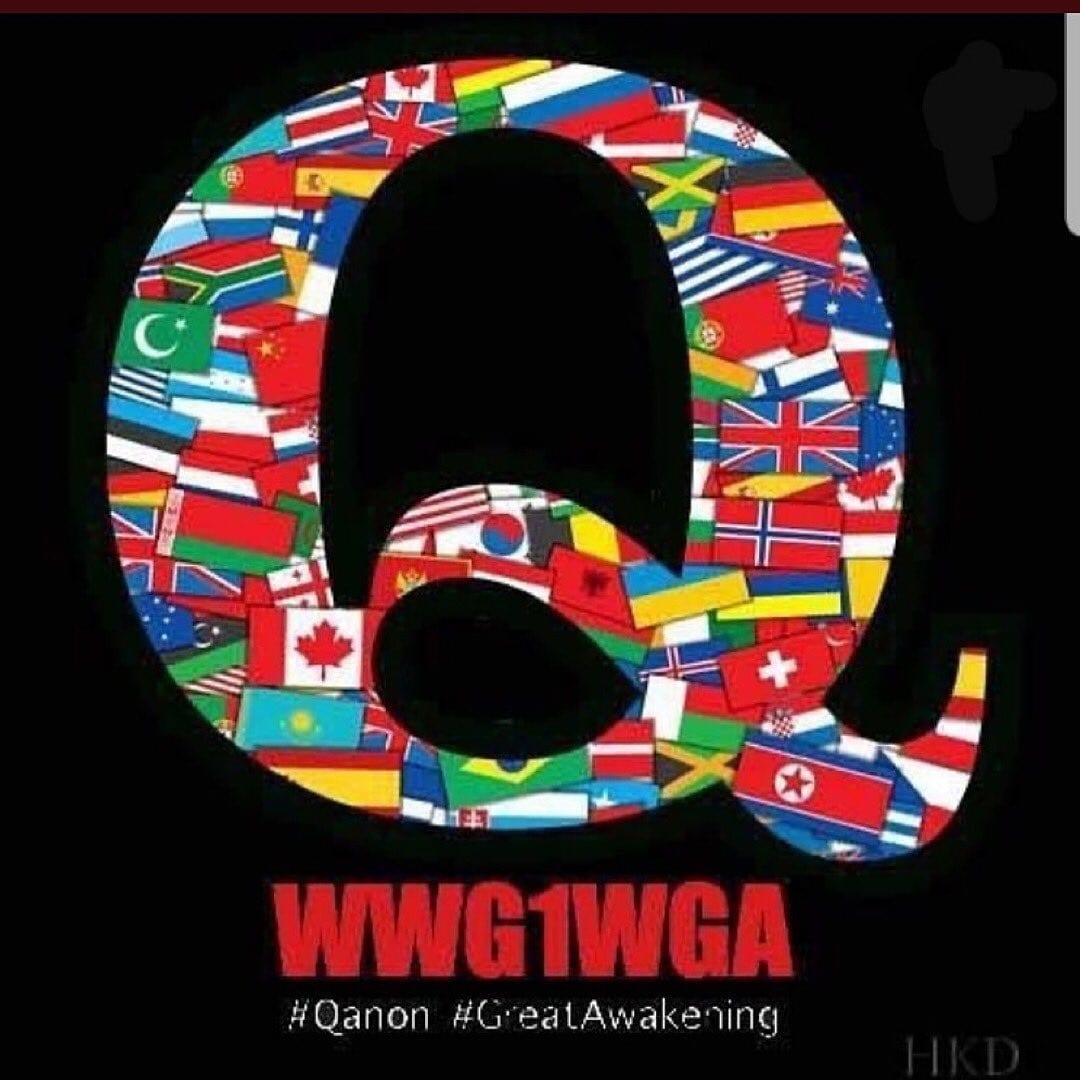 Calling all Q accounts! Don't forget to switch your IG logo to this one for 9/11…
