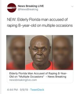 A  71-year-old man from Palm Beach County, Florida, has been arrested after he r…