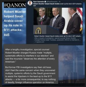 Robert Mueller helped Saudi Arabia cover up its role in 9/11 attacks: suit Sourc…