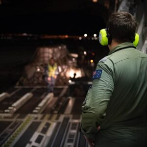 Air Force Prepares An Australian C-17 Globemaster Intended to Aid Australia With Fire Suppressant, Which Have Been Burning Since Setember 2019
