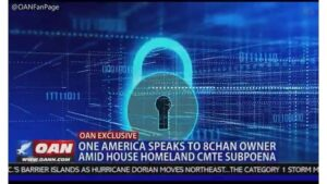 8Chan will be back online in a few days, according to owner Jim Watkins…