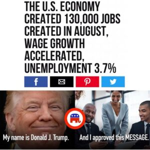 Read more about the article Unemployment among African Americans fell to 5.5 percent, the lowest level on re…