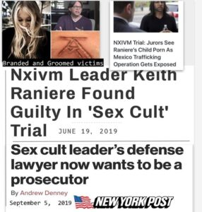 Read more about the article NXIVM was operating 11 daycares in Albany, NYC, LA, London, Madrid, Guatemala Ci…