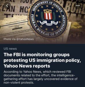 """The @FBI has gathered intelligence from people with """"direct access"""" to the organ…"""
