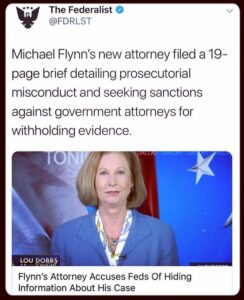 Read more about the article Corruption at the highest levels of our govt. good for General Michael Flynn and…
