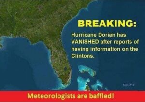 Read more about the article BREAKING: Hurricane Dorian has vanished after reports it had information on the …
