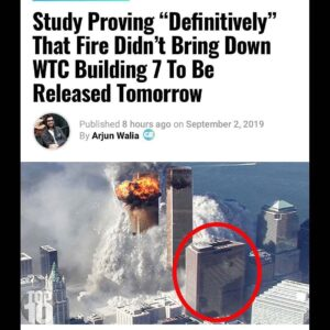 Read more about the article New report to be released tomorrow providing that fire did not bring down WTC Bu…
