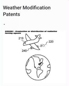 Read more about the article List of all weather modification patents:   This is the patent pertaining to HAA…