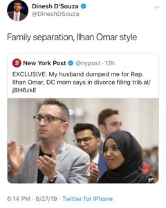 Family Separation Ilhan Omar Style …