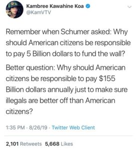 Read more about the article Oddly enough Schumer's been awfully quiet lately……