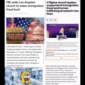 FBI Raids Los Angeles Church To Make Immigration Fraud Bust