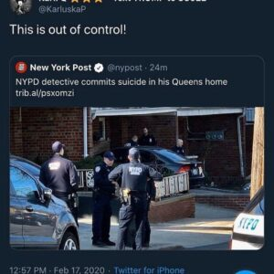 NYPD Detective Commits Suicide In His Queens Home