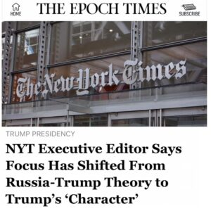 New story updated today summarizing the disgruntled @NYTimes' leaked audio from …