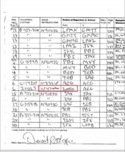 Reminder: Jeffery Epstein was caught sharing an FAA tail number with a US milita…