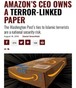 Amazon CEO owns a Terror Linked Paper=> Washington Post supports ISIS while it's…