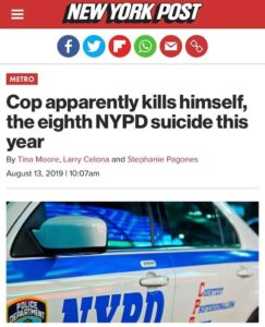 @NYPD officers are being suicided. Reason being they have a copy of weiner's lap…