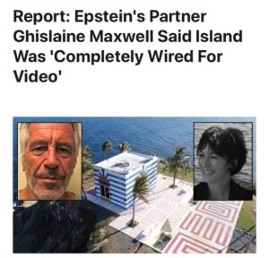 Ghislaine Maxwell reportedly told a friend that Epstein's Island in Little St Ja…