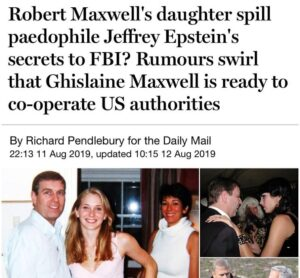 Ghislaine Maxwell Ready to cooperate with @FBI ? The world is watching….