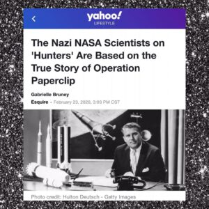 """The Nazi NASA Scientists On """"Hunters"""" Are Based On The True Story Of Operation Paperclip"""