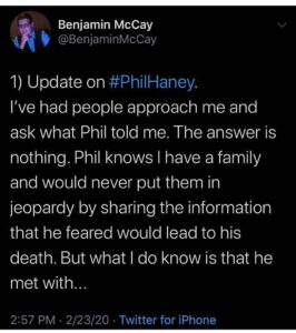 Who Is Phil Haney?